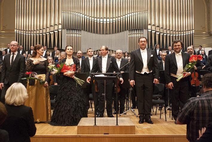 Koncert Stabat mater v Slovenskej filharmónii, foto: Alexander Trizuljak