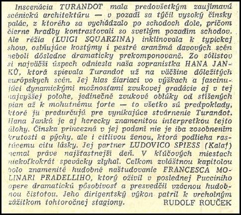 Kritika Rudolfa Roučka, Hudobný život, 7. 11. 1969, č. 20, s.6