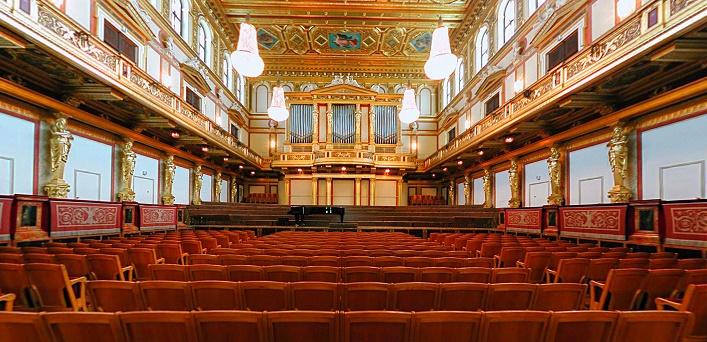Musikverein vo Viedni, Zlatá sála, foto: internet