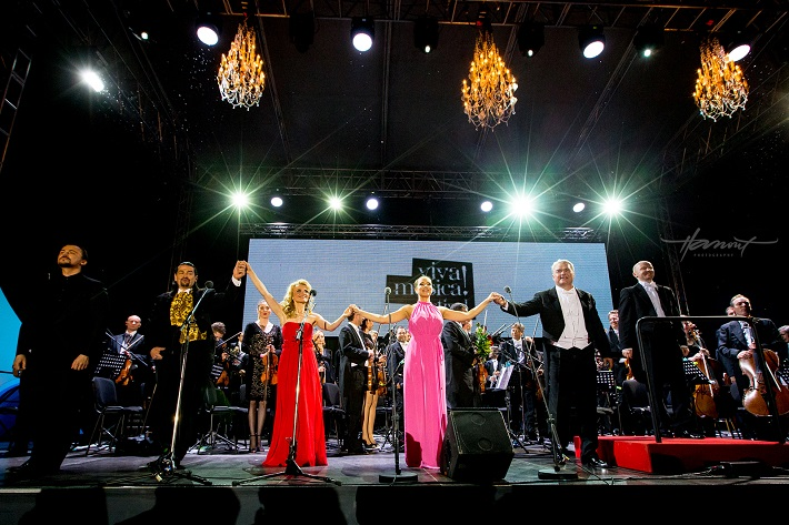 Operný galakoncert na Bratislavskom hrade, Viva Musica! 2014, foto: Zdenko Hanout