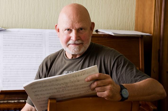 Pēteris Vasks, foto: www.vaskafonds.lv