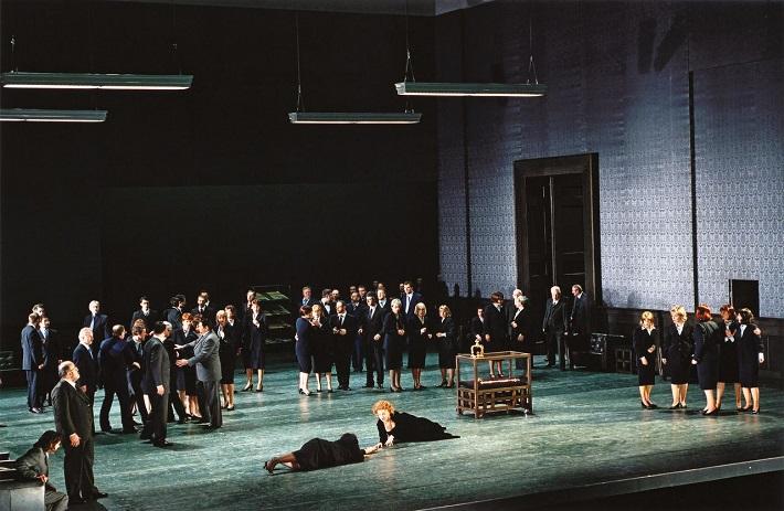 Roberto Devereux, Bavorská štátna opera Mníchov, sólisti a zbor Bavorskej štátnej opery, foto: www.staatsoper.de