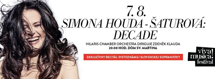 Simona Houda-Šaturová, Viva Musica! festival