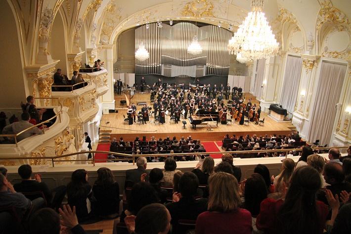 Symfonický orchester VŠMU, koncert v Slovenskej filharmónii (2014)