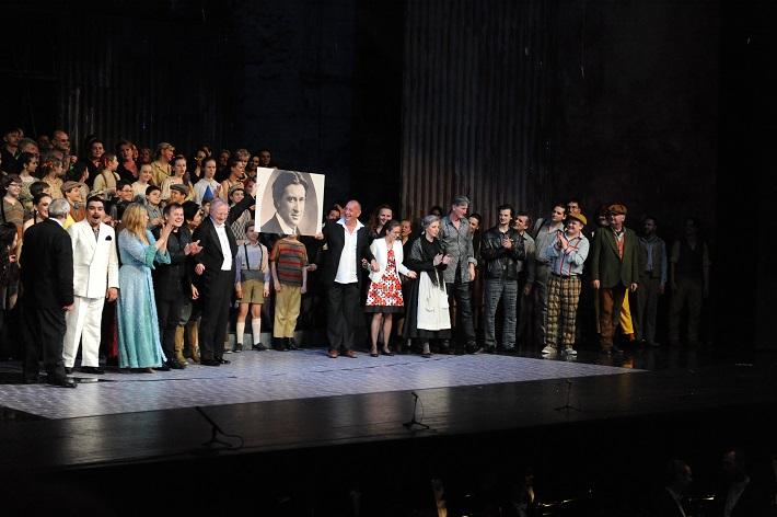 Šperky Madony, Opera SND, (2015), ďakovačka po premiére, foto: Alena Klenková