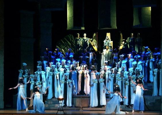 Aida, Opera SND, foto: Alena Klenková
