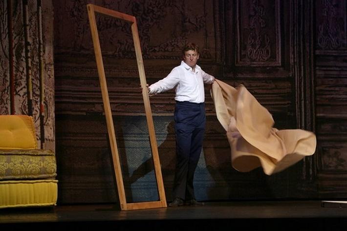 Dorian Gray, Opera SND, 2013 Eamonn Mulhall (Dorian), Dorian Gray, Opera SND foto: Jozef Barinka