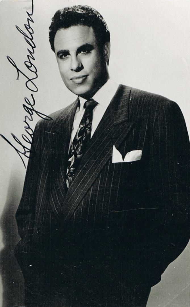 George London, (1920-1985)