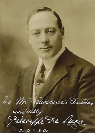 Giuseppe de Luca, (1876-1950)