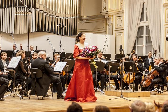 Benefičný koncert na podporu obnovy Domu Albrechtovcov, Simona Houda-Šaturová, foto: Alexander Trizuljak