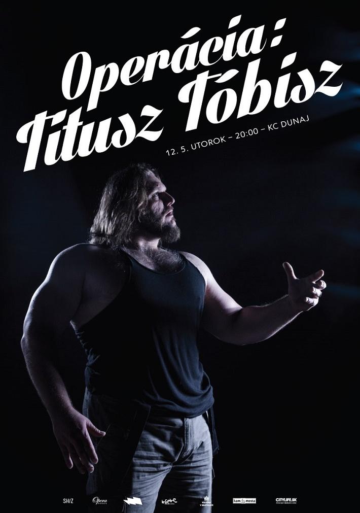Titusz Tóbisz - Operácia plagát