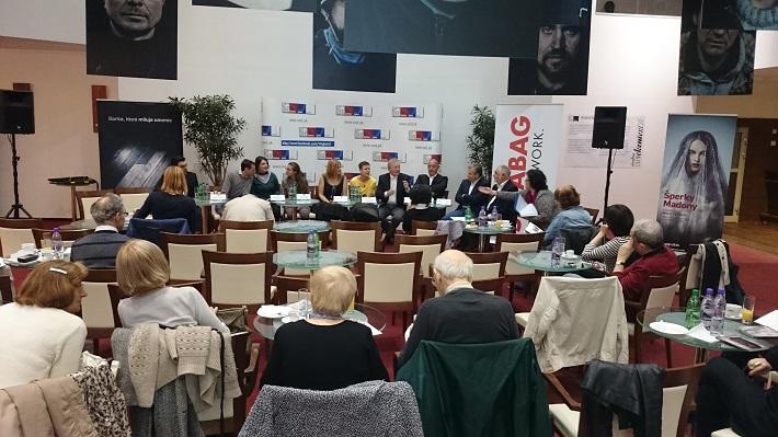 Tlačová konferencia k premiére opery Šperky Madony v SND, foto: Ľudovít Vongrej