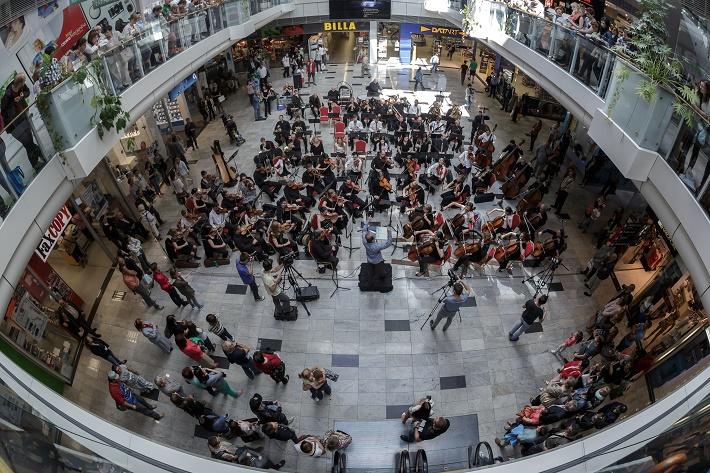 Štátna filharmónia Košice v košickom Auparku