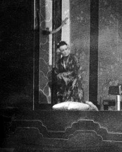 G. Puccini: Madame Butterfly, Opera SND, 1940, Jelizaveta Evertová  (Suzuki), foto: Archív DÚ