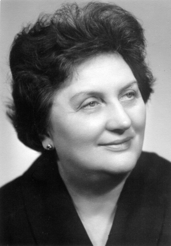 Ida Černecká, (1920 – 2009), foto: Archív Hudobného centra)
