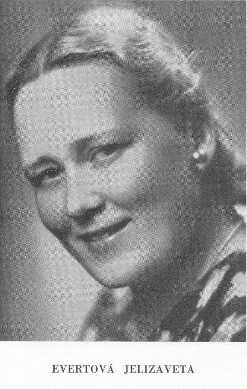 Jelizaveta Evertová, (1904-1985), foto: Archív DÚ