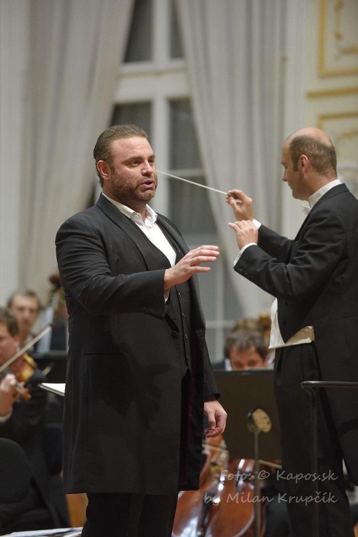 Joseph Calleja, Rastislav Štúr, koncert agentúry Kapos, foto: Milan Krupčík