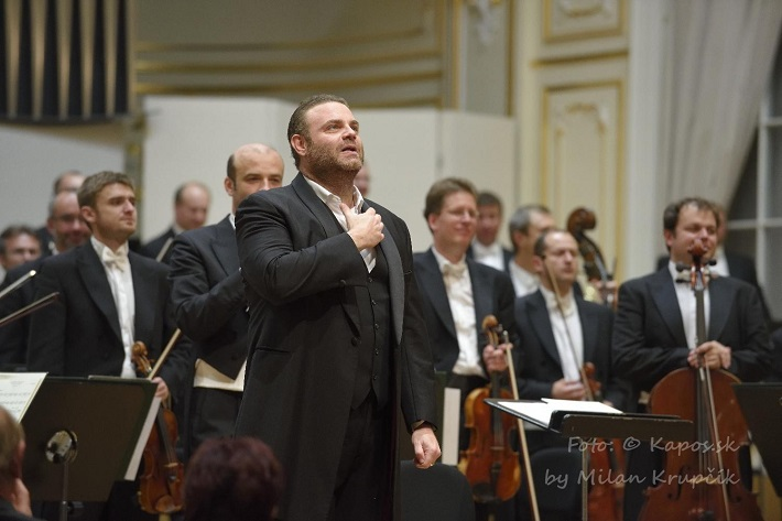 Joseph Calleja, koncert agentúry Kapos, foto: Milan Krupčík