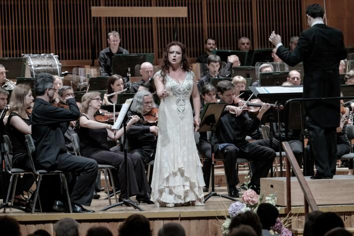 Štátna filharmónia Košice, Koncert Francúzska opera, Zuzana Šveda, Maroš Potokár, foto: Jaroslav Ľaš