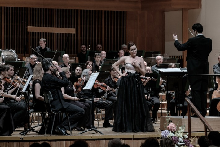 Štátna filharmónia Košice, Koncert Francúzska opera, Andrea Vizvárí, Maroš Potokár, foto: Jaroslav Ľaš