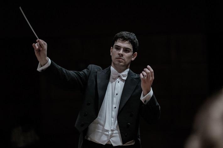 Štátna filharmónia Košice, Koncert Francúzska opera, Maroš Potokár, foto: Jaroslav Ľaš