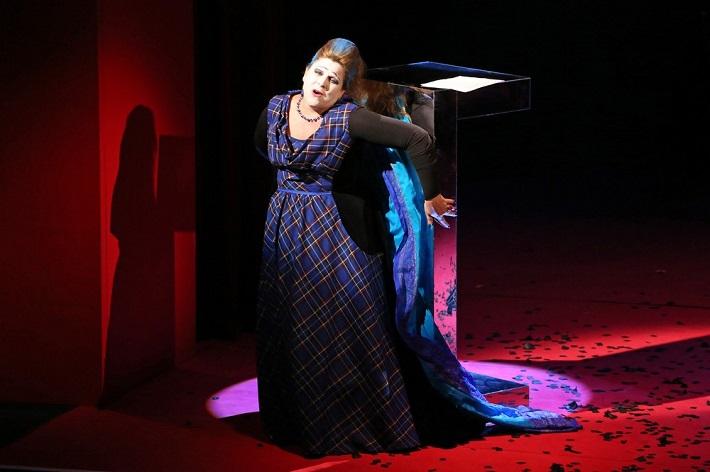 Macbeth, Štátna opera Banská Bystrica, Louise Hudson (Lady Macbeth), foto: ŠOBB