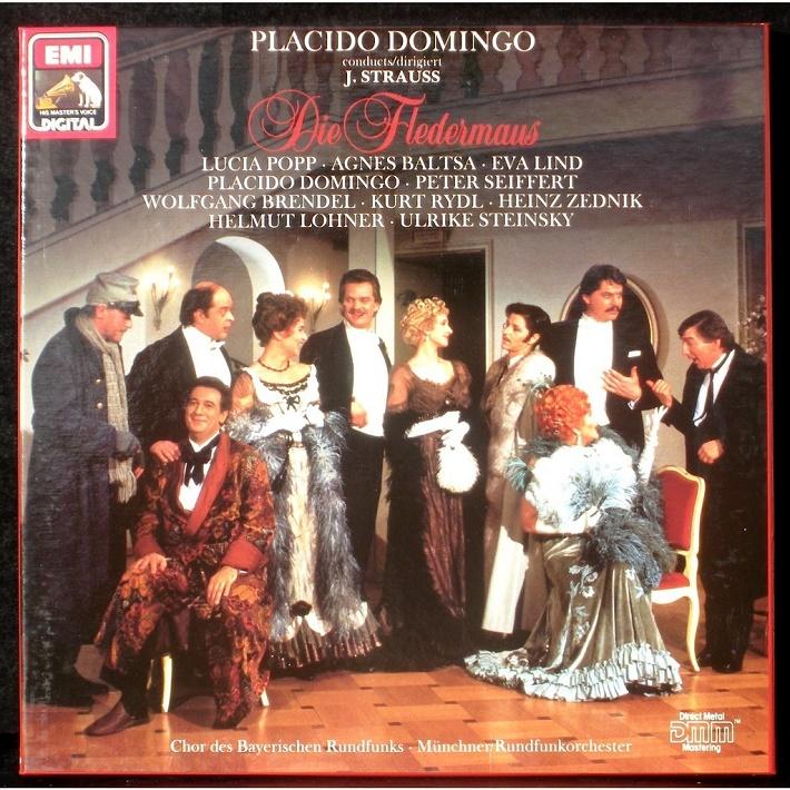 Nahrávka Straussovho Netopiera pod taktovkou Plácida Dominga