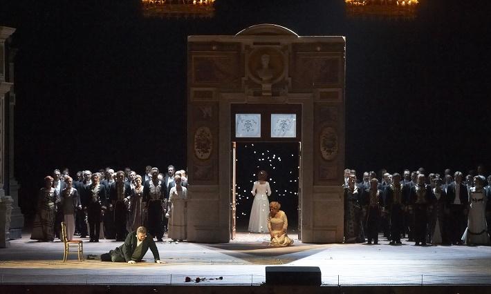 Tannhäuser, Viedenská štátna opera, 2012, Peter Seiffert ako Tannhäuser, Petra Maria Schnitzer ako Elisabeth, Slovenský filharmonický zbor