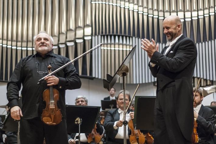 Koncert Slovenskej filharmónie, Ewald Danel, Emmanuel Villaume, foto: Alexander Trizuljak