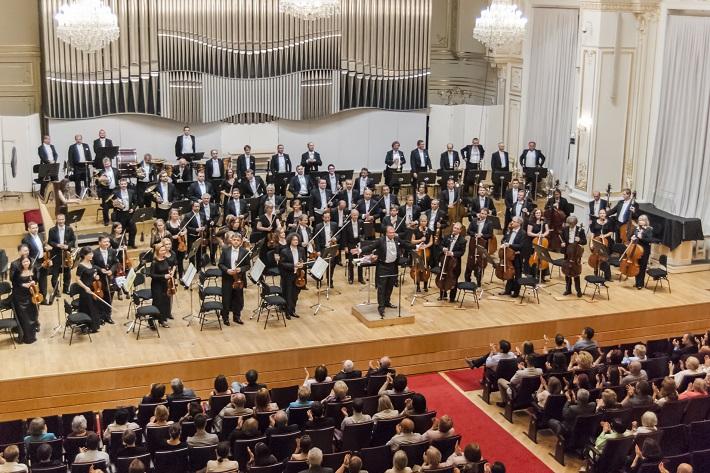 Koncert Slovenskej filharmónie, L. Svárovský, J. Ružička, foto: Alexander Trizuljak