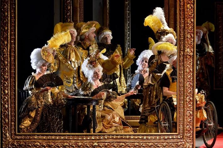 Andrea Chénier, NDM Ostrava, Zbor opery NDM, foto: Martin Popelář