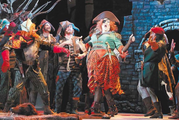 Snehová kráľovná (2014) v Boľšom Teatri pod názvom Príbeh Kaia a Gerdy