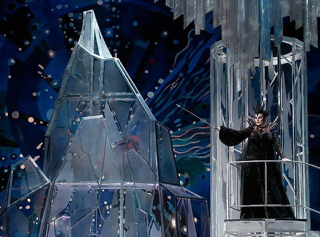 Snehová kráľovná, Bolšoj Teater, (2014), palác Snehovej kráľovnej - romantická verzia