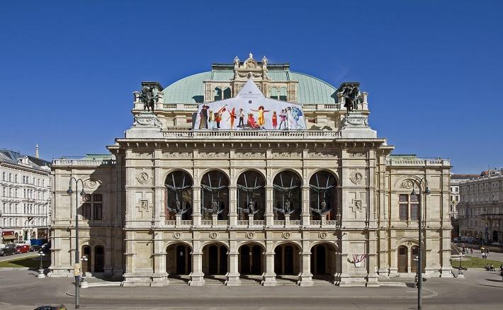 Stan na streche Viedenskej štátnej opery v ktorom až do aktuálnej sezóny prebiehali detské operné predstavenia