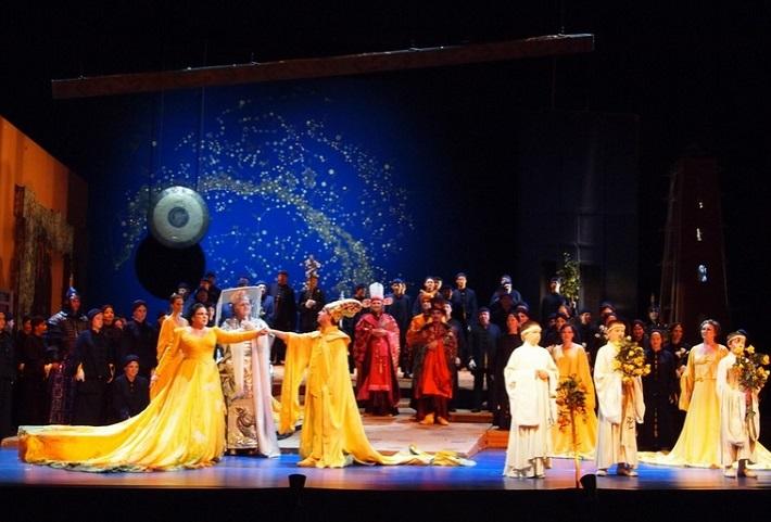 Turandot, Opera SND, foto: SND