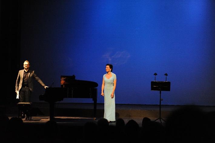Voci da camera, Opera SND,  (2015), Róbert Pechanec, Monika Fabianová, foto: Alena Klenková