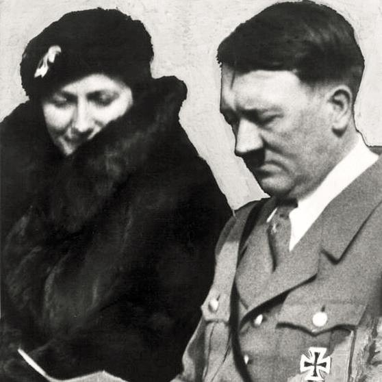 Winifred Wagner a Adolf Hitler