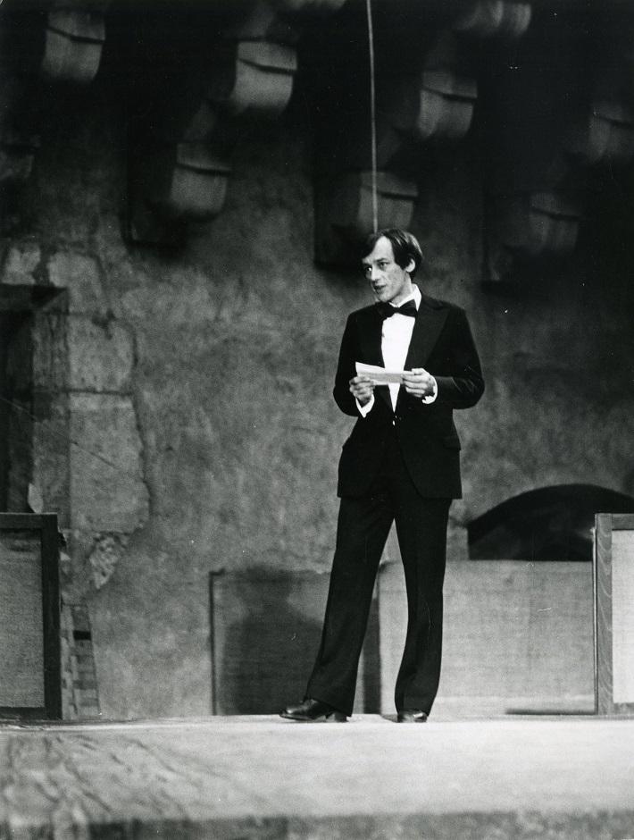 Zámocké hry zvolenské, 1980, Jaroslav Blaho, otvorenie ZHZ 1980, foto: Archív DÚ
