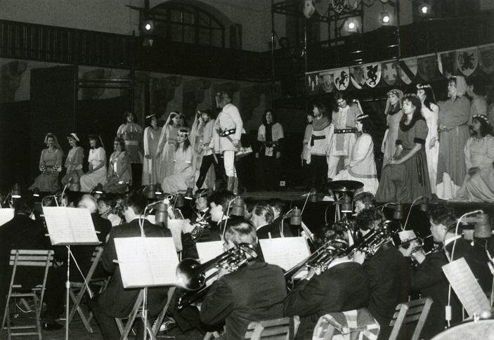 Zámocké hry zvolenské 1994, Gaetano Donizetti: Favoritka, foto: Ľ. Šprirko, (Archív DÚ)