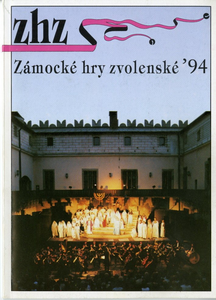 Zámocké hry zvolenské 1994, foto: Archív DÚ