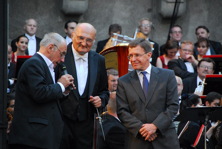 Zámocké hry zvolenské, 2010, Jaroslav Blaho, Marián Vach, Michael Tanzler, foto: Archív ŠOBB