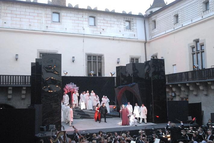Zámocké hry zvolenské, 2012, G. Puccini: Edgar, operný súbor Divadla Františka Xavera Šaldy Liberec, foto: Archív ŠOBB