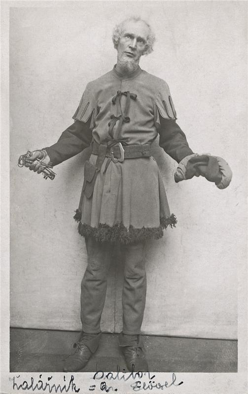 Arnold Flögl, B. Smetana, Dalibor, (Beneš), ND Praha, 1912, foto: Archív ND