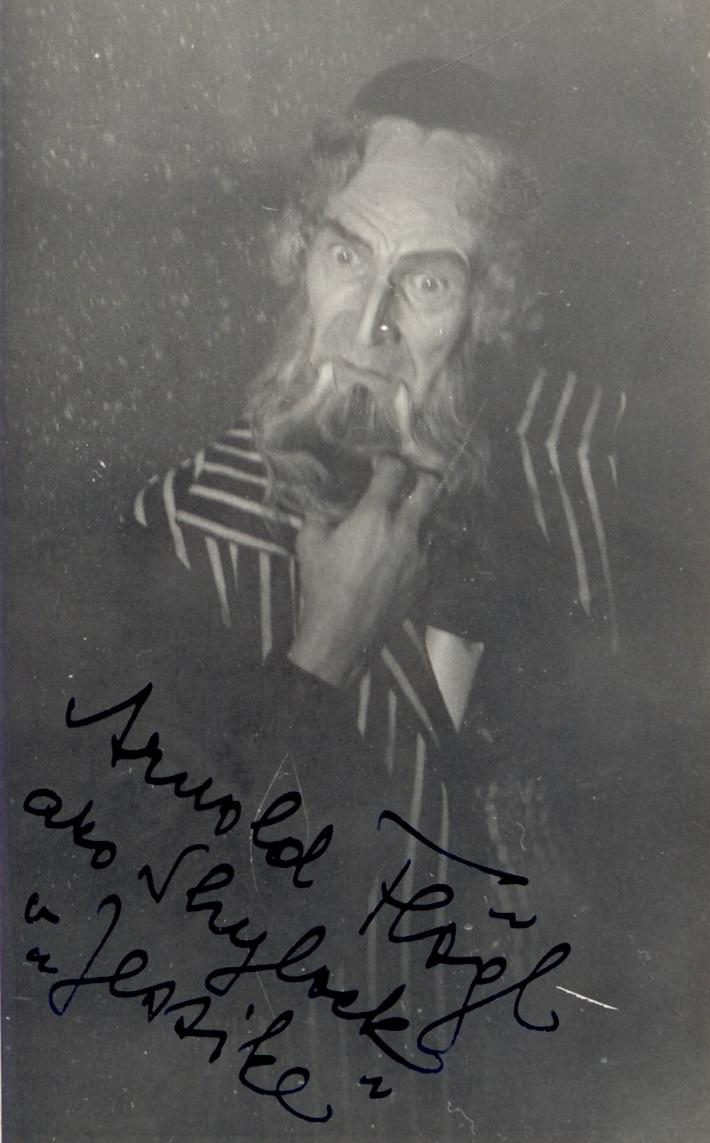 Arnold Flögl, J. B. Foerster, Jessika (Shylock), SND, 1934, foto: Archív SND
