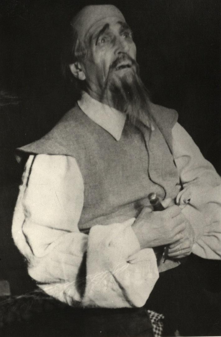Arnold Flögl, J. Massenet, Don Quijote (Don Quijote), SND 1947, foto: Archív DÚ