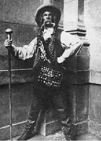 Arnold Flögl, C. M. Weber, Čarostrelec, (Gašpar), Slovenský spevokol v Martine, 1912, foto: Archív DÚ