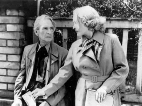 Arnold Flögl a Hana Vítová vo filme Pytláková schovanka, (réžia Martin Frič, 1949)