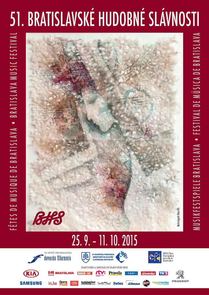Bratislavské hudobné slávnosti 2015, vizuál