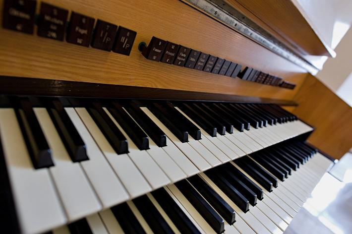 Bratislavský organový festival 2015, organ v Hudobnej sieni Bratislavského hradu, foto: Ján Lukáš