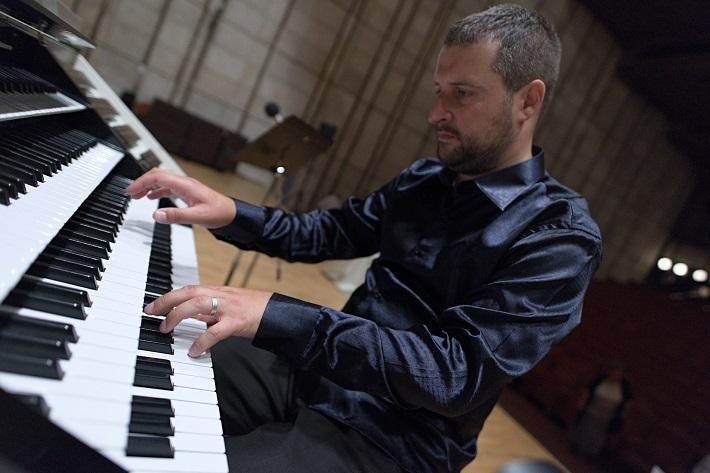 Bratislavský organový festival 2015, otvárací koncert, Karel Martínek (organ), foto: Ján Lukáš